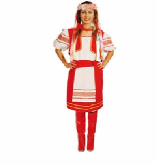 Robe de fête des femmes russes